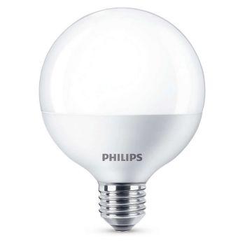 PHILIPS LED E27 128mm 9.5W