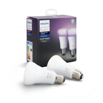 PHILIPS HUE COLOR E27 - 2PK