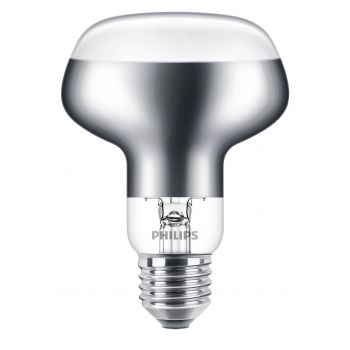 PHILIPS LED E27 114MM 5W GLAS