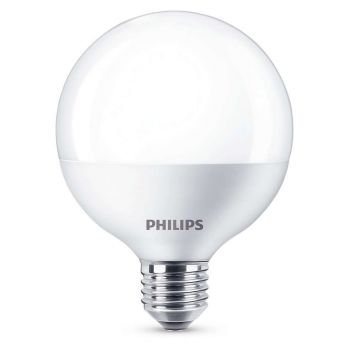 PHILIPS LED E27 128mm 9.5W
