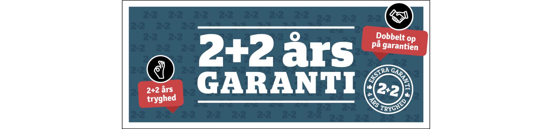 Dobbelt op på garantien